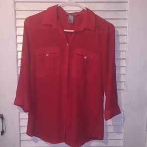 Loose button up